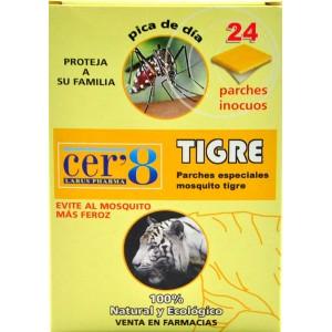 Cer 8 Parches Antimosquitos Tigre