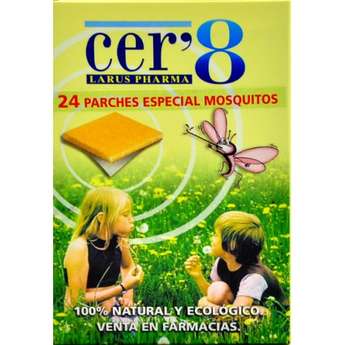 Cer 8 Parches Antimosquitos