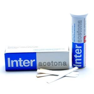 Inter Acetona Tiras Reactivas Control Acetona