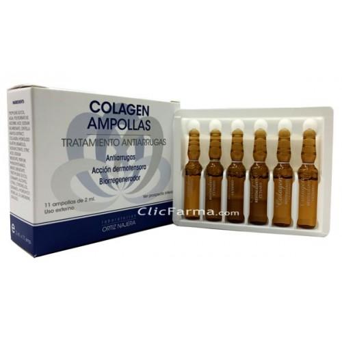 Colagen Ampollas Antiarrugas Vitamina C y Centella Asiatica