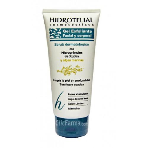Hidrotelial Gel Exfoliante Facial y Corporal