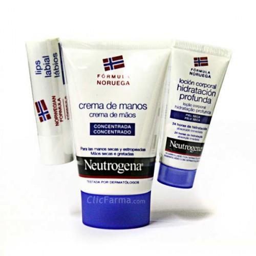 Neutrogena Crema de Manos Concentrada + Regalo Labial