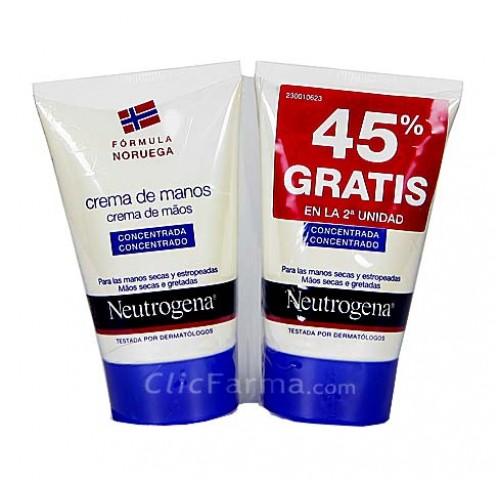 Neutrogena Duplo Crema de Manos Concentrada