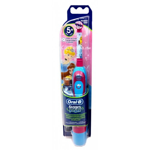 Oral B Stages Power Princesa Cepillo Dientes Electrico Infantil