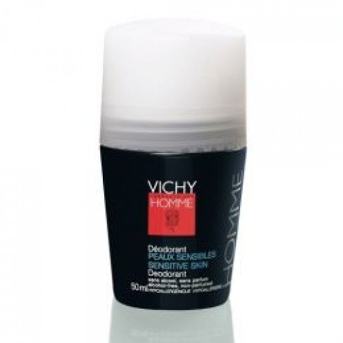 Vichy Homme Desodorante  Roll-On Anti-Transpirante