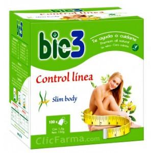 Bio3 Control Línea Slim Body 100 bolsitas