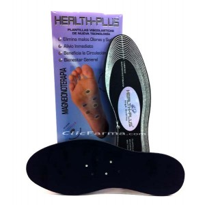 Health Plus Plantillas Viscolásticas con Magnetoterapia