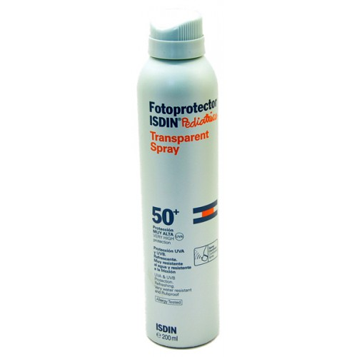 Isdin Fotoprotector Pediatrics transparent spray 50